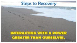 Beach steps recovery