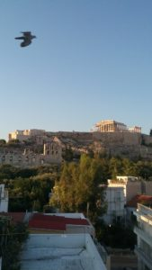 acropolis and holy spirit