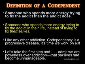 def of codependency